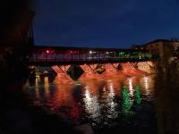 Bassano del Grappa, ponte degli Alpini  (foto ANA Milano)
