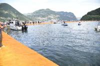 Floating Piers, lago d'Iseo