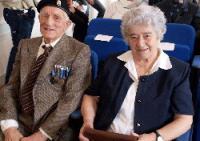 Formentini e la moglie Alda, 2012
