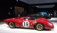 Grandbasel - Ferrari 312 P (1969); sullo sfondoPagani Huayra e Bugatti Chiron, foto Daniele Cazzaniga