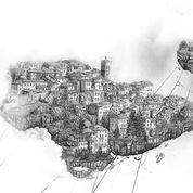 """II Borse, """"Sacro Monte"""".  Immagini: Festival dell'illustrazione Di-Se"""