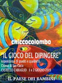"""Castello Cabiaglio e """"Il gioco del dipingere"""""""