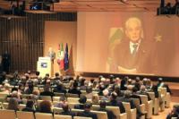Presidente Mattarella, inaugurazione Salone del mobile