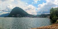 Lago Lugano, panorama, foto Daniele Cazzaiga