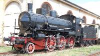 Nuovo smalto di una locomotiva d'antan