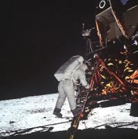 L'uomo sulla Luna 11 - Lo sbarco di Aldrin, foto Uninsubria
