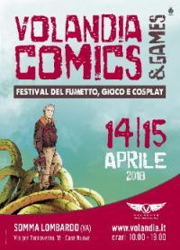 Manifesto Volandia Comics & Games