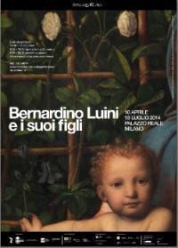 manifesto prossima mostra su Bernardino Luini