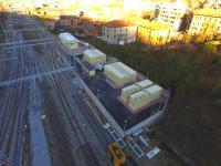 nuovi impianti di trazione elettrica, Cabina TE di Chiasso 1, foto Regione Lombardia