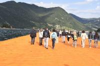 The Floating Piers, primo giorno