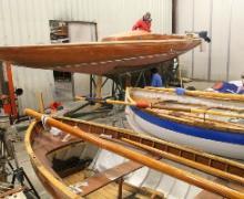 Barche d'epoca in restauro_Foto Maccione