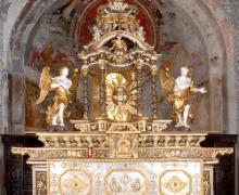 Bedero, San Vittore, altare maggiore_XVII sec.