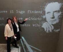 l'architetta Patrizia Buzzi e la giornalista  Chiara Gatti