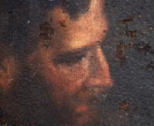 dipinto del XVIII sec., dettaglio