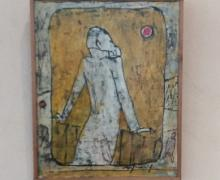 """dalla mostra: Franco Rognoni, """"Terrazza"""". L'opera è rappresentata anche sulla copertina del volume a cura di Chiara Gatti con la collaborazione di Stelio Carnevali eAlberto Palazzi"""