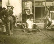 inaugurazione fonderia 1926