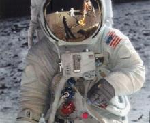 L'uomo sulla Luna - Passeggiata di Aldrin, foto Uninsubria
