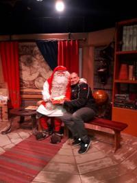 Alessandro Pozzi a Rovaniemi con Babbo Natale .jpg