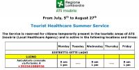 Luino e Bellagio, Guardia medica turistica