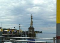 lago Costanza, verso Friedrichshafen, statua di Imperia, gjr