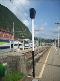 Laveno, ferrovia